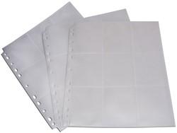 Blackfire 18-Pocket Pages - White - Side-Loading (50 stuks)