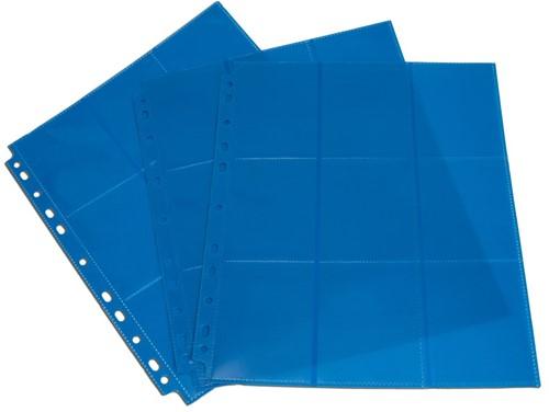 Blackfire 18-Pocket Pages - Blue - Side-Loading (50 stuks)