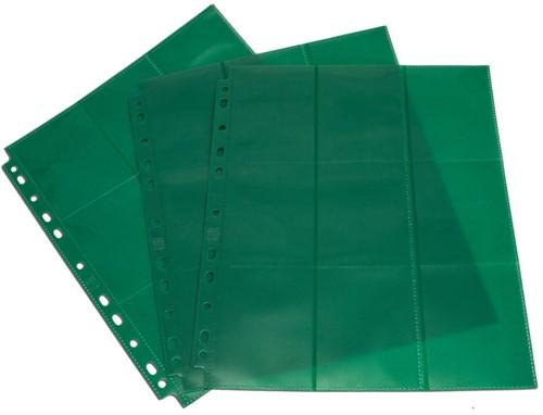 Blackfire 18-Pocket Pages - Green - Side-Loading (50 stuks)