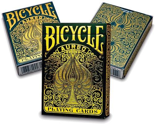 Pokerkaarten Bicycle Aureo Premium