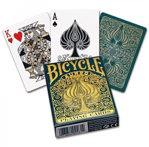 Pokerkaarten Bicycle Aureo Premium-2