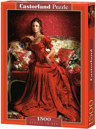 Beauty In Red Puzzel (1500 stukjes)