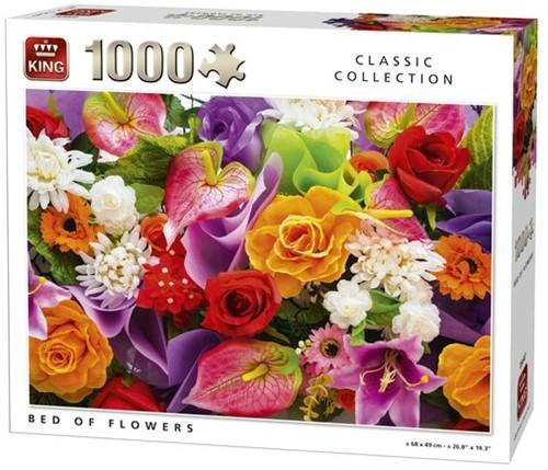 Bed Of Flowers Puzzel (1000 stukjes)