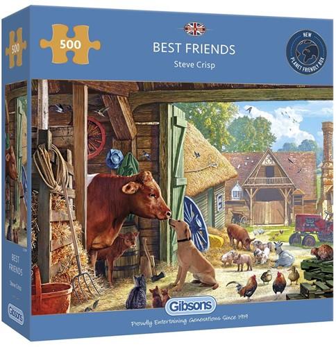 Best Friends Puzzel (500 stukjes)