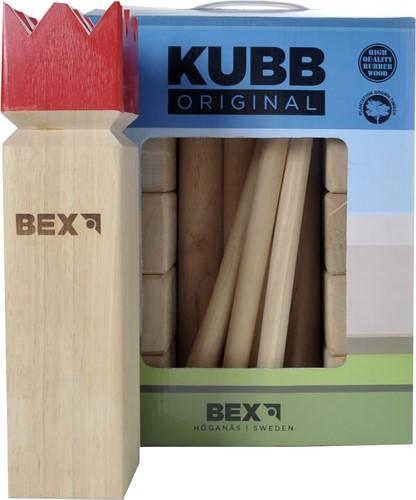 Bex Kubb Original (Rode Koning) (doos beschadigd)