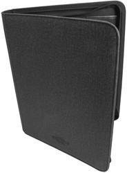 Blackfire Premium Binder - Slim with Rings & Zipper (9 pocket size)