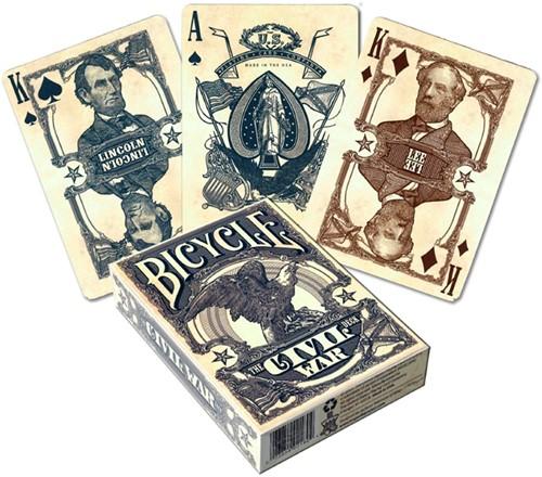 Bicycle Pokerkaarten - Civil War USA