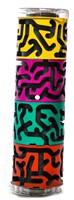 Bertikal Colorful Doolhofpuzzel Cilinder-2