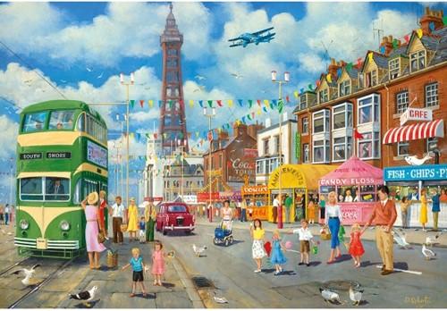Blackpool Promenade Puzzel (500 stukjes)