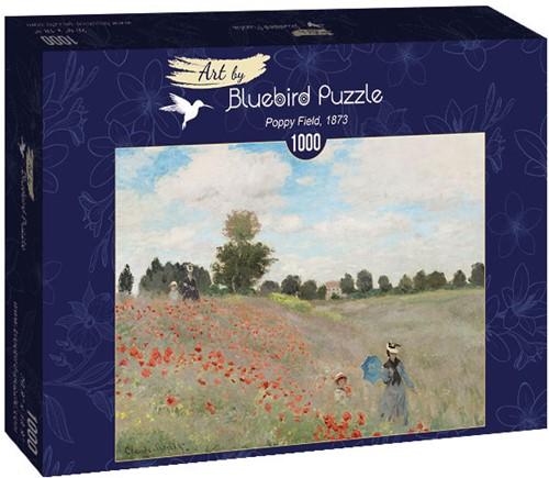 Claude Monet - Poppy Field Puzzel (1000 stukjes)