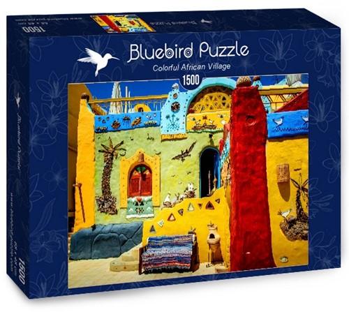 Colorful African Village Puzzel (1500 stukjes)