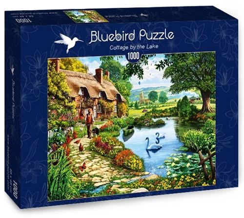 Cottage by the Lake Puzzel (1000 stukjes)