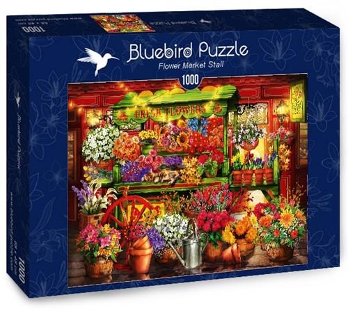 Flower Market Stall Puzzel (1000 stukjes)