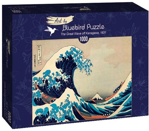 Hokusai - The Great Wave off Kanagawa Puzzel (1000 stukjes)