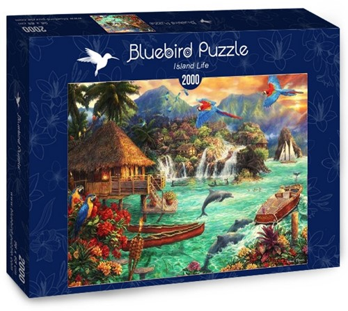 Island Life Puzzel (2000 stukjes)