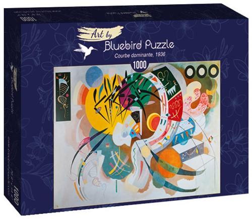 Kandinsky - Dominant Curve Puzzel (1000 stukjes)