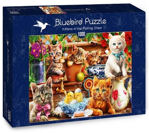 Kittens in the Potting Shed Puzzel (1000 stukjes)