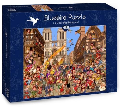 La Cour des Miracles! Puzzel (2000 stukjes)