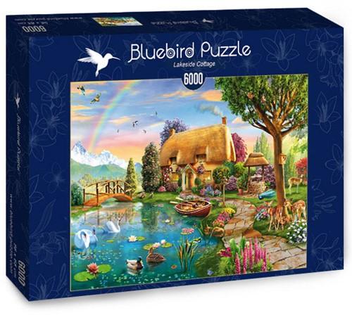 Lakeside Cottage Puzzel (6000 stukjes)