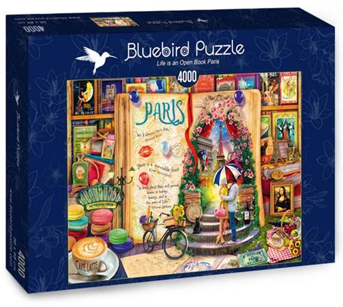 Life is an Open Book Paris Puzzel (4000 stukjes)