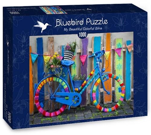 My Beautiful Colorful Bike Puzzel (1000 stukjes)