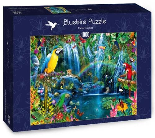Parrot Tropics Puzzel (1000 stukjes)