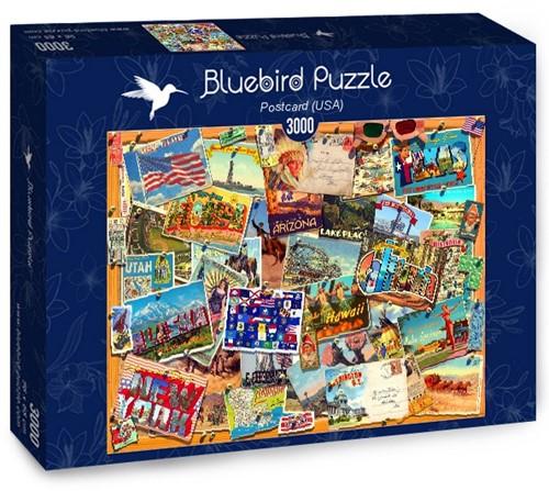 Postcard USA Puzzel (3000 stukjes)