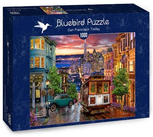 San Francisco Trolley Puzzel (1000 stukjes)