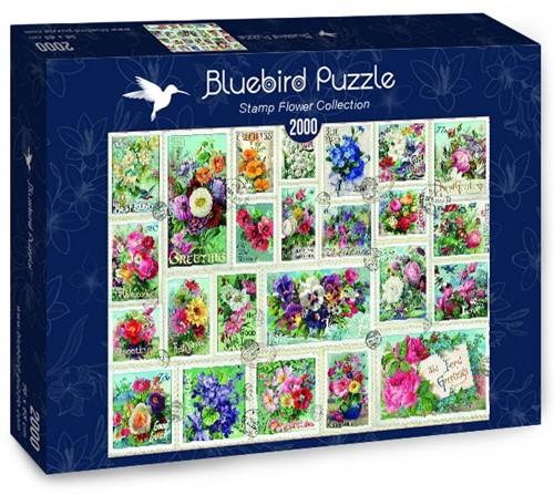 Stamp Flower Collection Puzzel (2000 stukjes)
