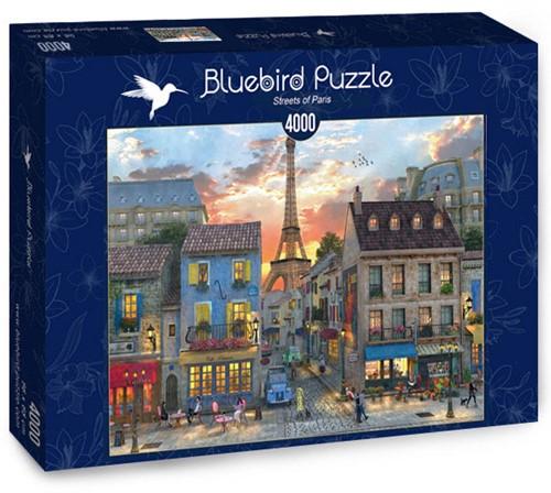 Streets of Paris Puzzel (4000 stukjes)
