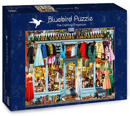 The Clothing Emporium Puzzel (1000 stukjes)