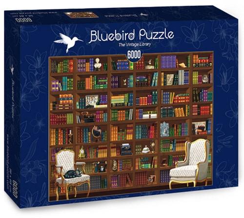 The Vintage Library Puzzel (6000 stukjes)