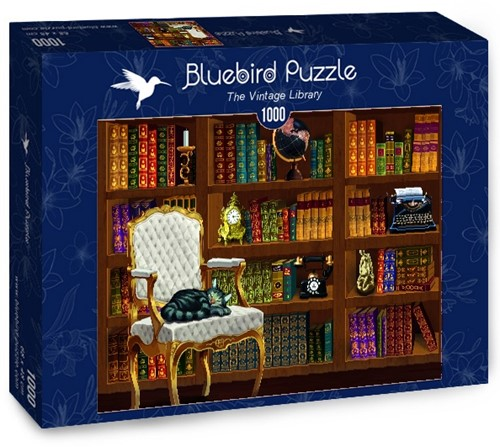 The Vintage Library Puzzel (1000 stukjes)