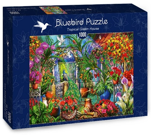 Tropical Green House Puzzel (1000 stukjes)