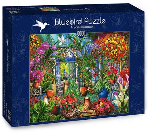 Tropical Green House Puzzel (6000 stukjes)