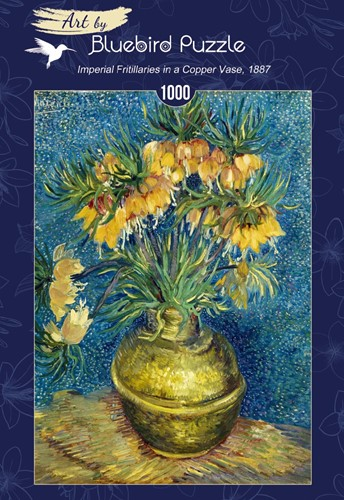 Van Gogh - Imperial Fritillaries in a Copper Vase Puzzel (1000 stukjes)