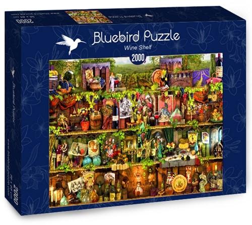 Wine Shelf Puzzel (2000 stukjes)
