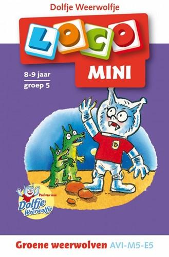 Loco Mini Boekje - Dolfje Weerwolfje, Groene Weerwolven