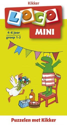 Loco Mini Boekje - Puzzelen met Kikker