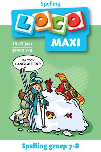 Loco Maxi Boekje - Spelling Groep 7-8