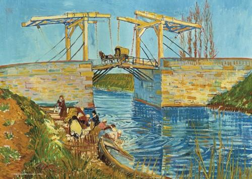 Brug te Arles - Vincent van Gogh Puzzel (1000 stukjes)