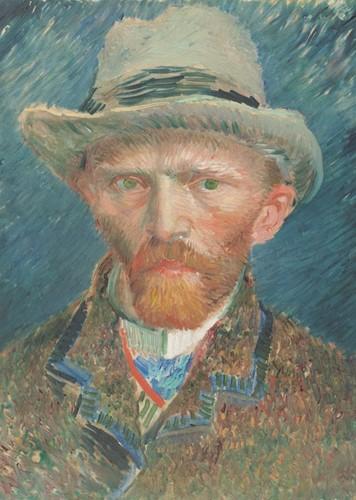 Zelfportret - Vincent van Gogh Puzzel (1000 stukjes)
