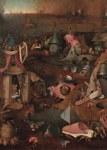 Jheronimus Bosch - Het laatste Oordeel Puzzel (1000 stukjes)