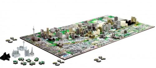 4D City Puzzel - Las Vegas (930 stukjes)-2