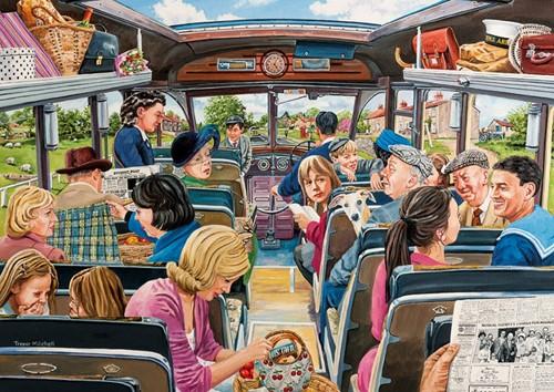 The Country Bus Puzzel (4 x 500 stukjes)-3