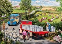 The Country Bus Puzzel (4 x 500 stukjes)-2