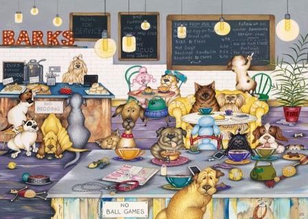 Barks Cafe Puzzel (1000 stukjes)