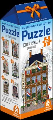 Amsterdam - Jodenbreestraat 4 (500 stukjes)-1