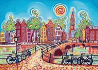 1001 Kleuren - Amsterdam Puzzel (1000 stukjes)-2