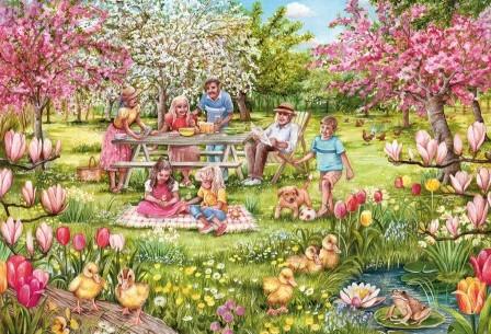 Five Little Ducks Puzzel (1000 stukjes)